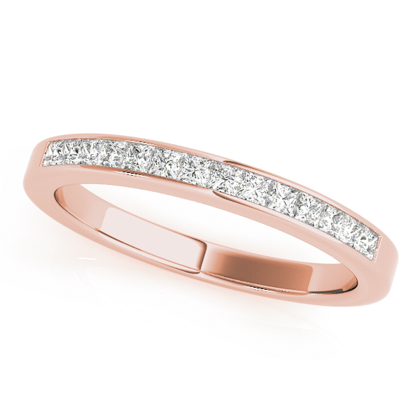 Rose Princess Diamond Channel Anniversary Band