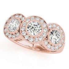 round-three-stone-diamond-halo-ring